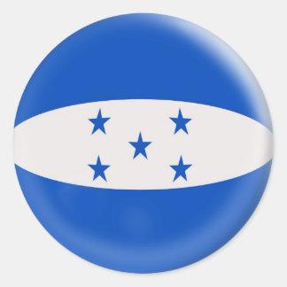 20 small stickers Honduras flag