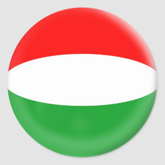 20 small stickers Hungary Hungarian flag