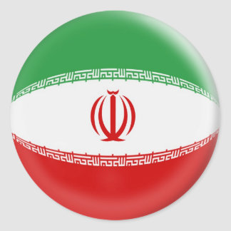 20 small stickers Iran flag