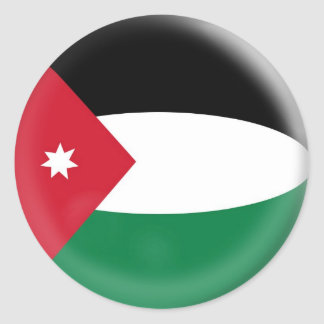 20 small stickers Jordan Jordanian flag