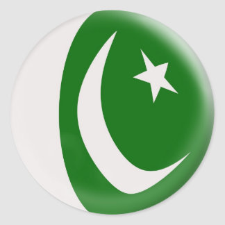 20 small stickers Pakistan flag