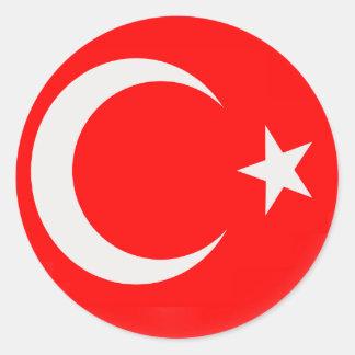 20 small stickers Turkiey Turkish flag