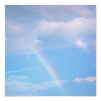 "20""x20"" Rainbow Poster Print"