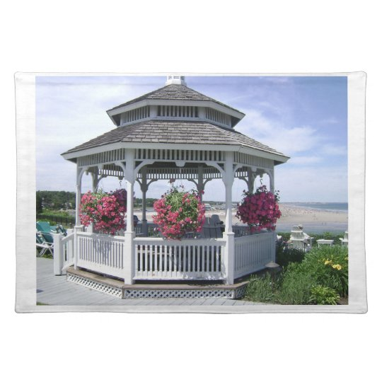 "20"" x 14"" TABLE PLACE MAT - MAINE GAZEBO"