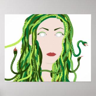 """20"""" x 16"""" Medusa Poster"""