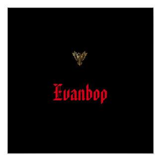 "20"" x 20"", Poster Paper (Semi-Gloss) Evanbop"