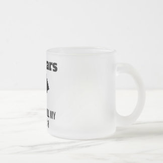 20 Years Best Catch Frosted Glass Coffee Mug