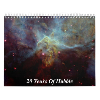 20 Years Of Hubble Calendars