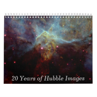 20 Years of Hubble Images Wall Calendars