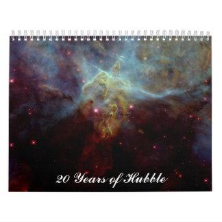 20 Years of Hubble Wall Calendar