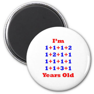 20 Years old! 6 Cm Round Magnet