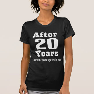 20th Anniversary (Funny) T-Shirt