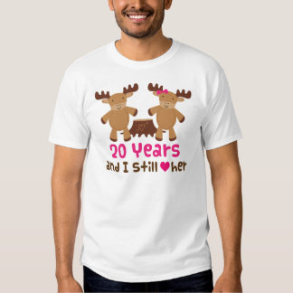 20th Anniversary Gift For Him Tees