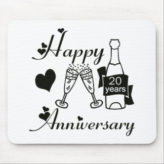 20th. Anniversary Mouse Mat