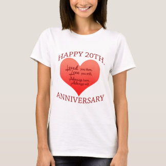 20th. Anniversary T-Shirt