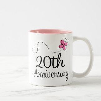 20th Anniversary Two-Tone Coffee Mug