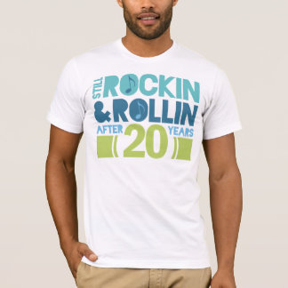 20th Anniversary Wedding Gift T-Shirt