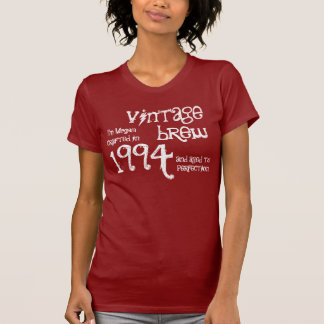 20th Birthday Gift 1994 Vintage Brew Cranberry v5 T Shirts