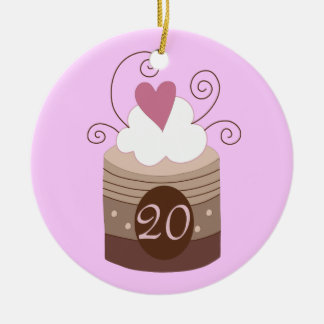 20th Birthday Gift Ideas For Her Christmas Ornament