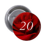 20th Birthday Pinback Button