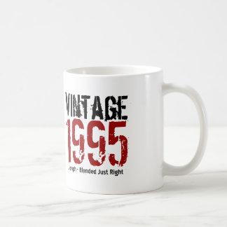 20th Birthday Vintage 1990 or Any Year V01Q1A Basic White Mug