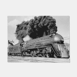 20th Century Limited Highball It! Vintage Train Doormat