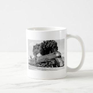 20th Century Limited Train Highball It! Vintage Basic White Mug