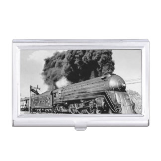 20th Century Limited Train Highball It! Vintage Business Card Holder