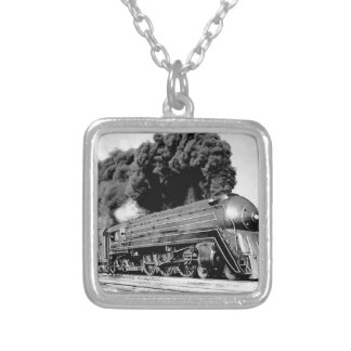 20th Century Limited Train Highball It Vintage Custom Necklace