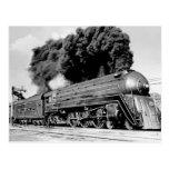 20th Century Limited Train Highball It! Vintage Postcard