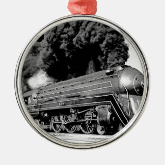 20th Century Limited Train Highball It! Vintage Silver-Colored Round Decoration