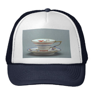 20th century tea cup and saucer, Germany Cap