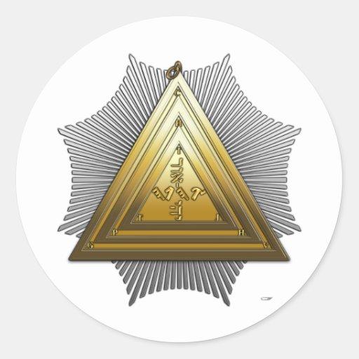 20th Degree: Master of the Symbolic Lodge Sticker