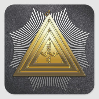 20th Degree: Master of the Symbolic Lodge Stickers