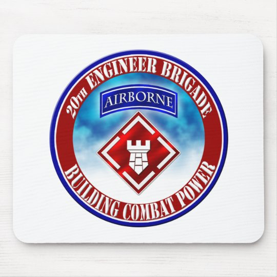 20th Engineer Brigade 001 Mouse Mat
