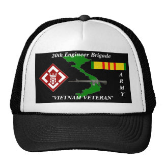 20th Engineers Brigade Vietnam Veteran Ball Caps Cap
