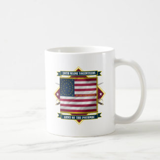 20th Maine Basic White Mug