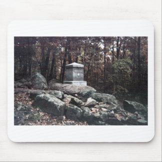 20th Maine Memorial on Little Round Top Gettysburg Mouse Mat