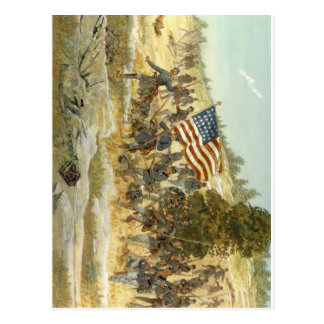 20th maine volunteer infantry regiment postcard