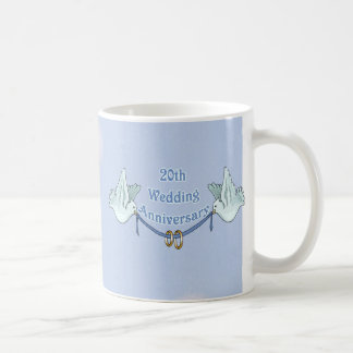20th Wedding Anniversary Coffee Mug