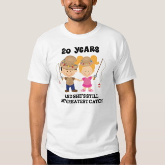 20th Wedding Anniversary Gift For Him Tee Shirts