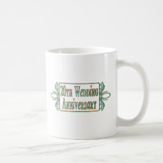 20th wedding anniversary gifts at coffee mug