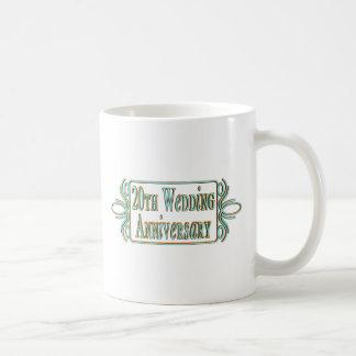 20th wedding anniversary gifts at mugs