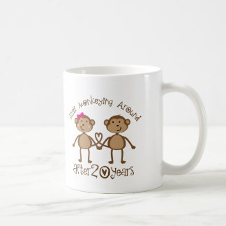 20th Wedding Anniversary Gifts Basic White Mug