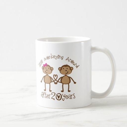 20th Wedding Anniversary Gifts Mug