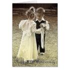 20th Wedding Anniversary Happy Anniversary Card