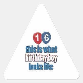 20th year birthday designs stickers