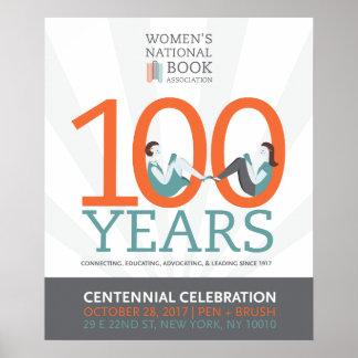 20x24 WNBA Centennial Celebration Poster