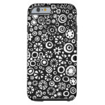 210712 - Black and White Tough iPhone 6 Case
