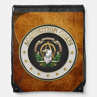 [210] Acquisition Corps (AAC) Branch Insignia [3D] Rucksack